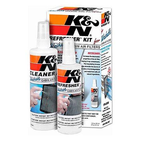 Kit Limpeza de Filtro Ar Condicionado K&N Squeeze 99-6000