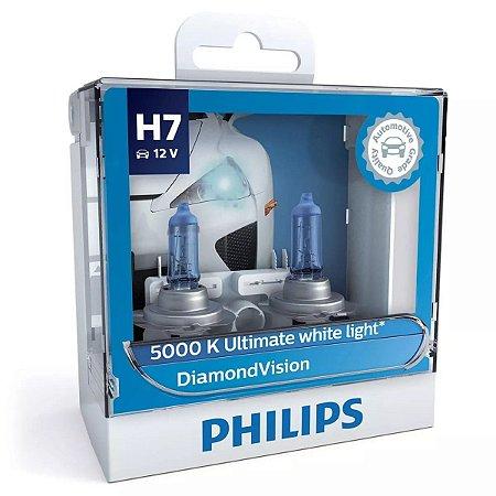 Philips H7 Diamond Vision 5000k Lâmpada