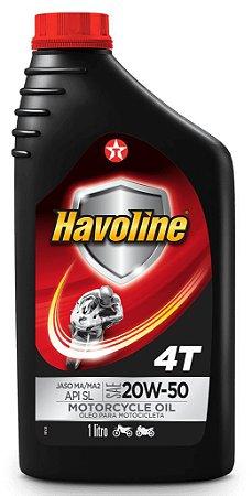 Óleo Motor Havoline Texaco 4T JASO MA/MA2 20W50 API SL
