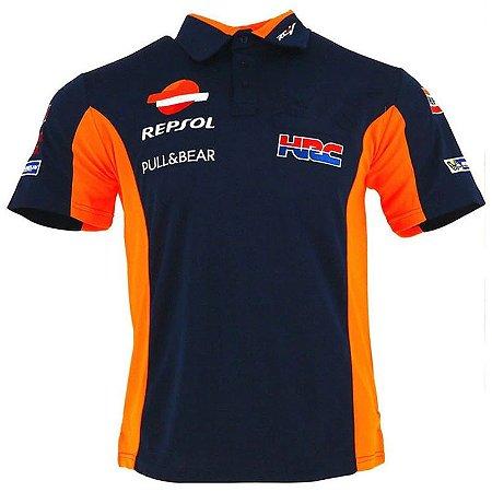 Camisa Honda Repsol Polo Camiseta Motogp Marc Marquez B009