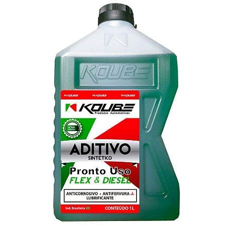 Koube Verde Aditivo Para Radiador Sintético Pronto Uso 1 Ano ou 20.000km