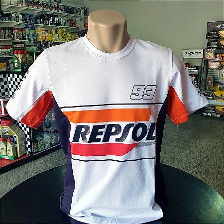 Camisa Honda Repsol Racing Marc Marquez 93 Camiseta Ref.242
