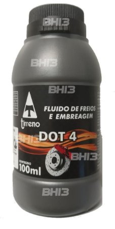 Fluído de Freios e Embreagem Dot 4 100ml Tirreno