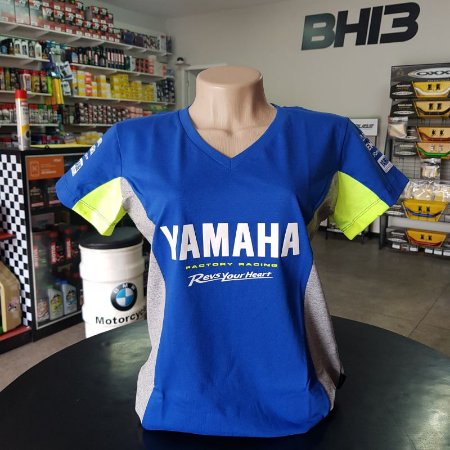Baby Look Yamaha Racing Team M1 VR46 Feminina Ref.258