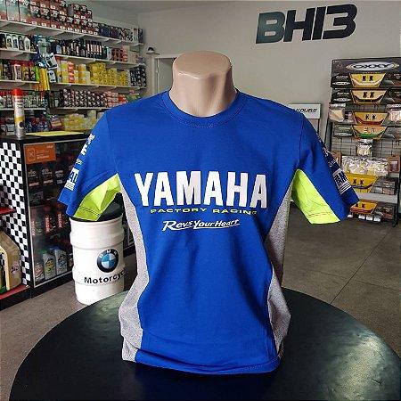 Camisa Yamaha Racing Team M1 Vr46 Camiseta Algodão Ref.261