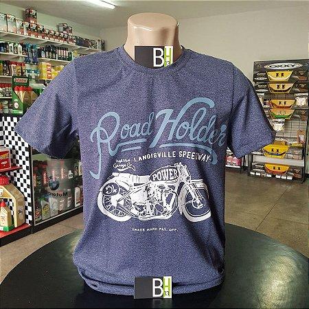Camisa Vintage Denin Road Holder Camiseta Algodão Ref.403