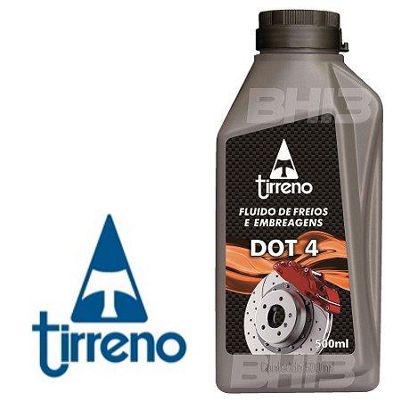 Fluído de Freios E Embreagem DOT 4 500ml Tirreno