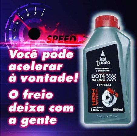 Tirreno DOT 4 Racing High Performance 500ml Fluido de Freio