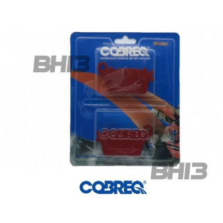 Pastilha Freio Cobreq Para Honda Cbr 600 Rr Abs N962