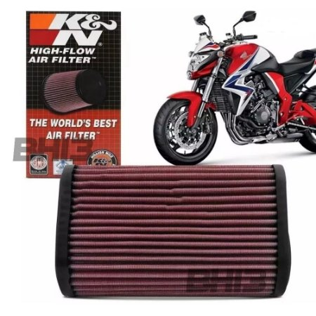 Filtro Ar K&n Esportivo Honda Cb1000r Cb 1000r Ha-1009
