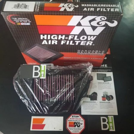 Filtro Ar K&n Kn Ha-6414 Honda Cbr650f Cbr 650 F Cbr650 650f