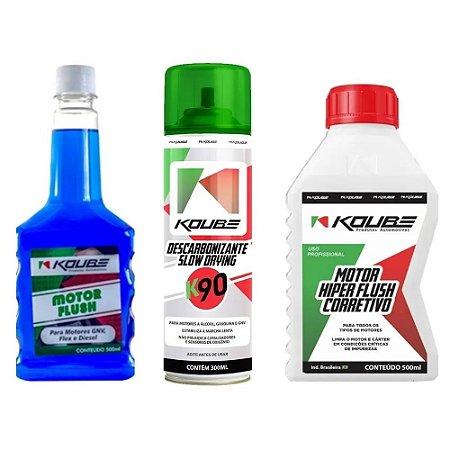 Combo Koube 1 Flush Corretivo + 1 K90 + 1 Flush Preventivo