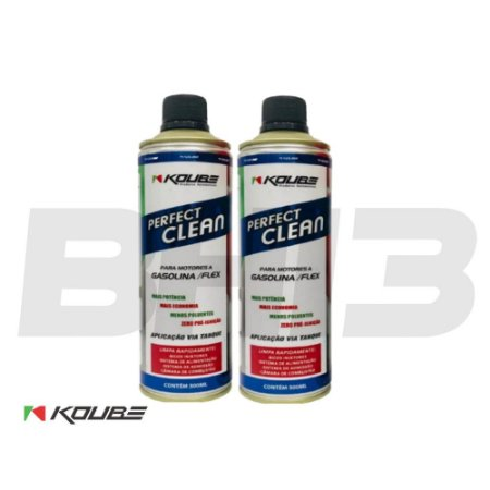 Kit 2 Latas Koube Perfect Clean Álcool Gasolina Gnv Flex