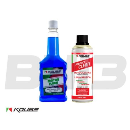 Combo Koube Flush Preventivo + Perfect Clean Moto