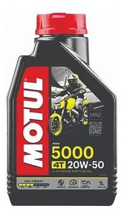 Motul 5000 20W50 Semissintético para Moto 4T