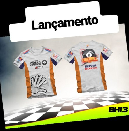 Camiseta Repsol Marc Marquez 93 Champion Eight Ball Ref.277