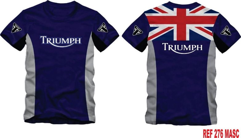Camiseta Triumph Tiger Scrambler Speed Twin Ref.276