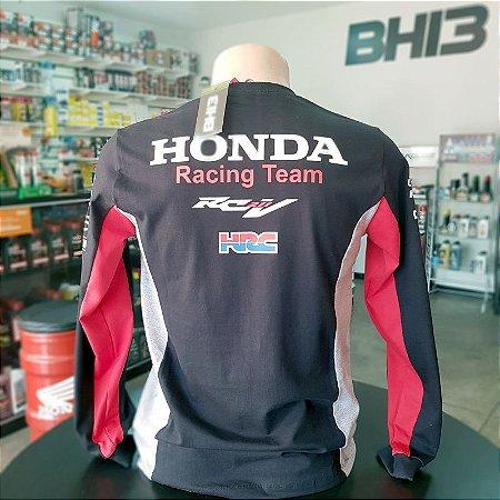 Camisa Manga Longa Honda Racing Repsol Marquez 93 Ref.460