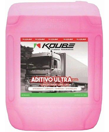 Aditivo Ultradiesel Concentrado LONG LIFE Rosa Koube 20 Litros