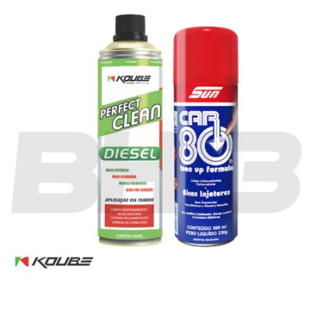 Perfect Clean Koube Diesel + Car80 Bicos Injetores