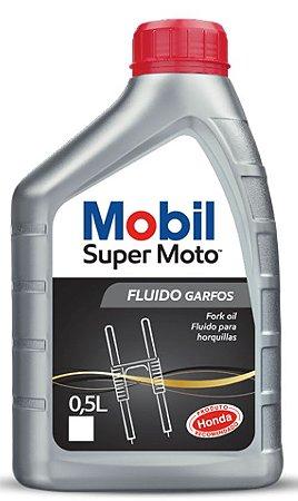 Mobil Super Moto Fork Oil Óleo Bengala Suspensão Dianteira