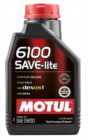 6100 5w30 Save-Lite Óleo Motul Sintético API SN
