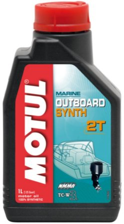Óleo 100% Sintético MOTUL Marine Outboard TCW3 NMMA 2T Motor de Popa Náutico