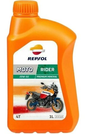 Repsol 20w50 Rider Bxt Api Sl Mineral Premium Jaso Ma