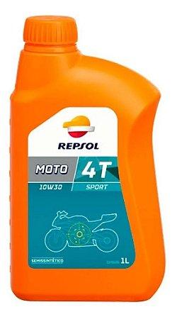 Óleo Repsol 10W30 Moto Sport 4t Honda Semissintético
