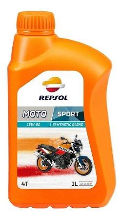 Repsol 15w50 Moto Sport API SL Semissintético JASO MA2