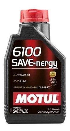 Motul 6100 Save Nergy 5w30 Sintetic Ford Jaguar Land Rover