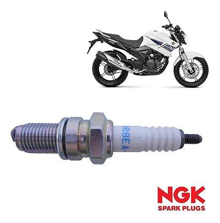 NGK DR8EA-N Vela de Ignição Yamaha Fazer 250 Blueflex Desde 2012