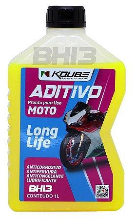 Koube Amarelo Koube Moto Aditivo pronto para uso Long Life 1