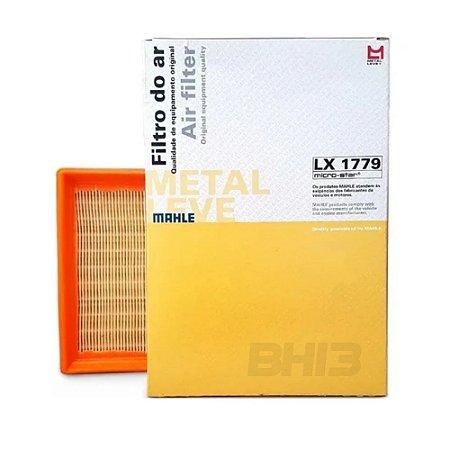 MAHLE LX1779 Filtro de Ar VW Gol G6 1.0 8v Totalflex 2013 diante