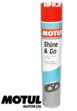 Motul Shine & Go 750ml Spray Brilho Carenagem