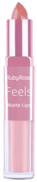 Batom Duo Matt Lips Feels 360 Ruby Rose