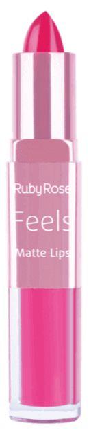Batom Duo Matt Lips Feels 359 Ruby Rose