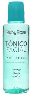 Tônico Facial da Ruby Rose Make