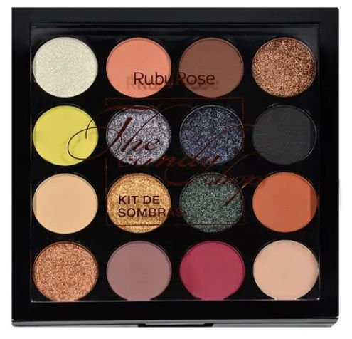Paleta de sombra The Candy Shop - Ruby Rose
