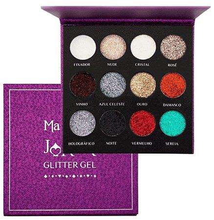 Paleta Joker Glitter Gel Mahav
