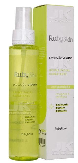 Bruma Hidratante Ruby Rose Proteção Urbana Antipoluição
