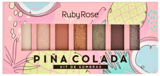 Paleta de Sombras Pinacolada Ruby Rose