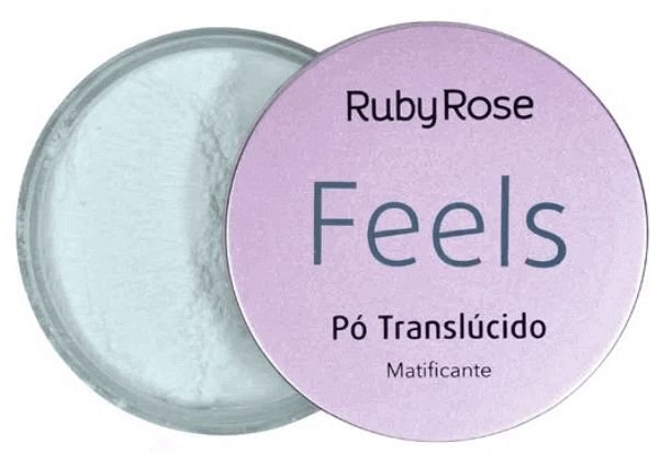 Pó Translúcido Matificante Feels Ruby Rose