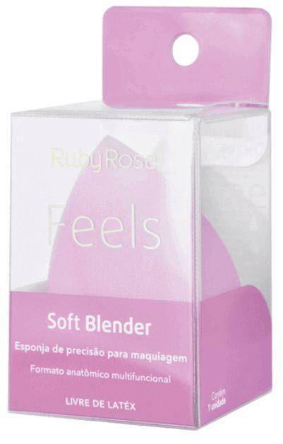 Esponja de Maquiagem Soft Blender Feels Ruby Rose
