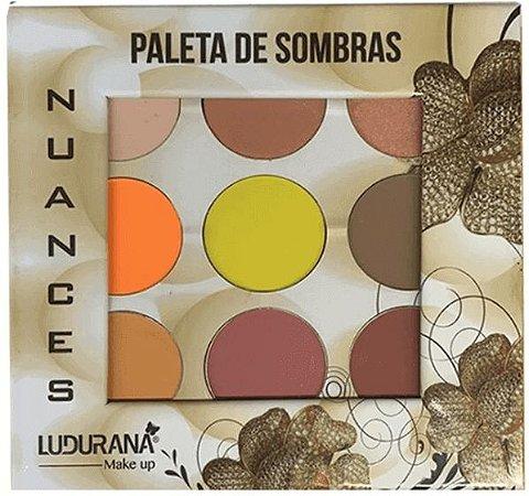 Paleta de Sombras Nuances Ludurana B0003