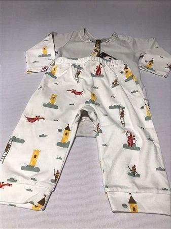 Conjunto Pijama Dragão