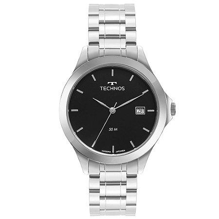 Relógio Technos Masculino Steel Prata - 1S13BCTDY/1P