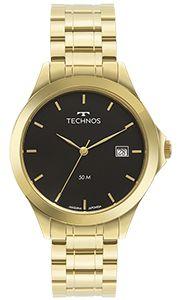 Relógio Technos Masculino Steel Dourado - 1S13BWTDY/4P