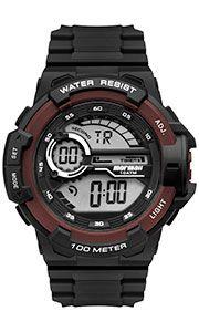 Relógio Mormaii Masculino Wave Preto e Vinho-  MO3660AC/8R