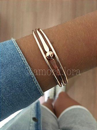 Bracelete Eloa (Rose)